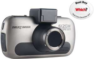 Nextbase 612GW Dash Cam • Was £250 Now £199 with promocode @ Halfords