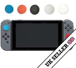 4 x Switch Joy Con Thumb grips £2.39 delivered @ Ebay / mg-direct  (choice of Blue/White/Red/Black/Clear)