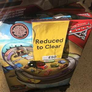 Disney Cars Ultimate Florida Speedway £50 Tesco Madeley in Telford