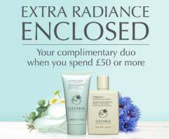 Free lotion & cleanser + free del w/orders over £50 @ Liz Earle