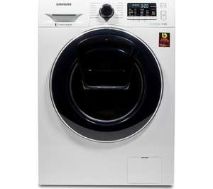 SAMSUNG AddWash WW80K5410UW Washing Machine - White 5 YEAR WARRANTY £379 @ Currys