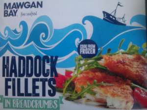 Mawgan Bay Cod/Haddock Fillets 500g 99p @ Home Bargains