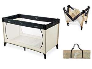 Hauck Beige Dream N Play Travel Cot - Aldi Linlithgow £6.99 Instore Only