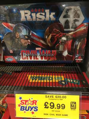 Risk (Captain America) £9.99 at Home Bargains