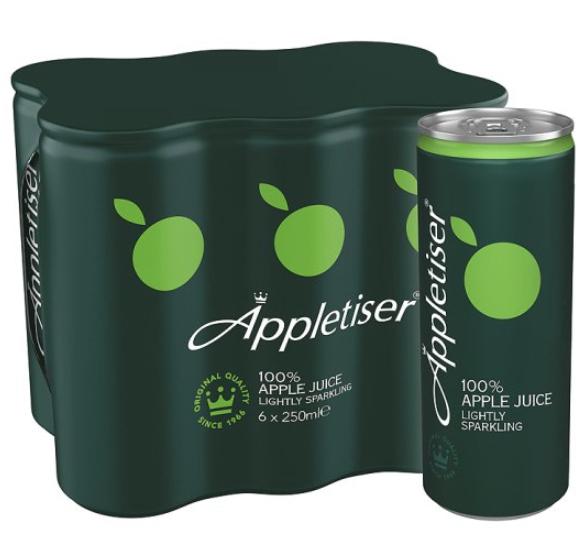 6 x 250ml Appletiser cans £2.50 @ Sainsbury's