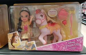 Disney Princess petite Belle and pony £10 instore at Tesco (Newmarket)