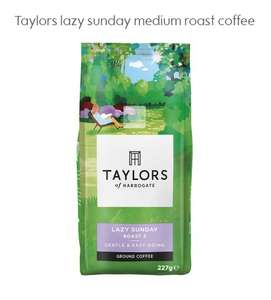 Taylors lazy sunday medium roast coffee 227g £1.87 - Waitrose