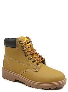 ONLY SIZE 3 - Steel Toe Safety Boots £10 down from £22 @ Asda Direct