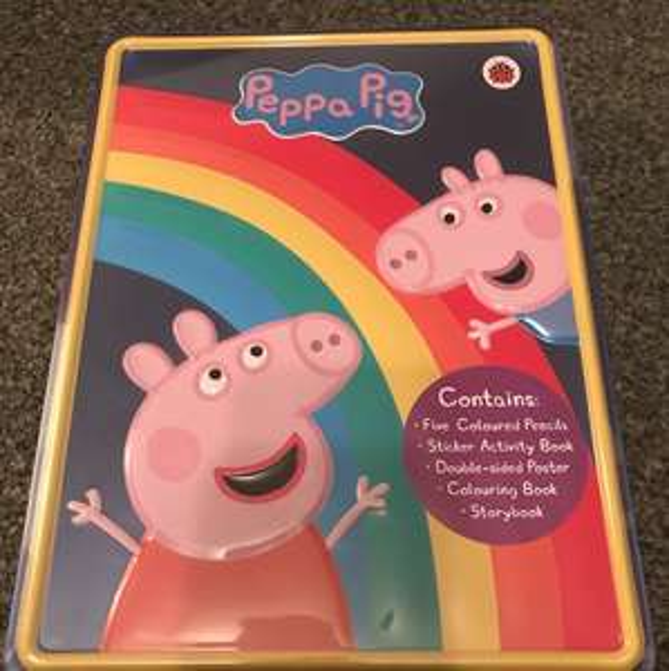 Peppa Pig Happy Tin Reduced to £1.50 at Asda INSTORE