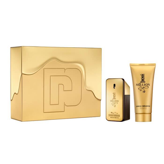 Paco Rabanne 1 Million For Men Eau De Toilette 50ml Gift Set £28.48 - The Fragrance Shop