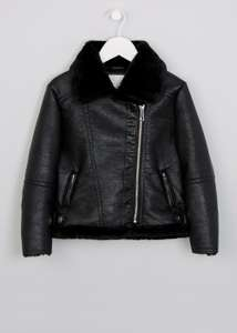 Matalan 70% Sale Girls Aviator Jacket £6.00