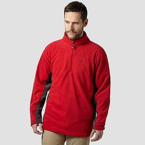 PETER STORM MEN'S HALF ZIP PANEL FLEECE £7.50 @ Millet Sports
