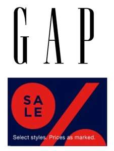 GAP - 3 for 2 on sale items - instore only