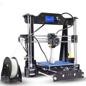3D Printer Kit 220x220x200mm Printing Size Support Off-line Print With Dual Fans 1.75mm 0.4mm £139 @ Banggood