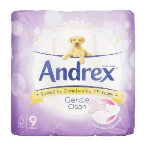 Andrex Gentle Clean 9 Roll - £2.99 at The Range