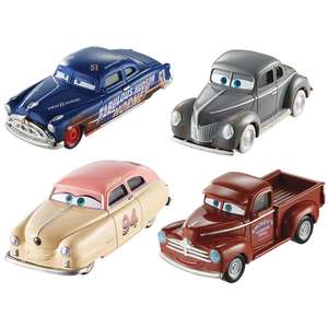 Cars 3 racing legends diecast 4 pack at Toys R Us for £14.99