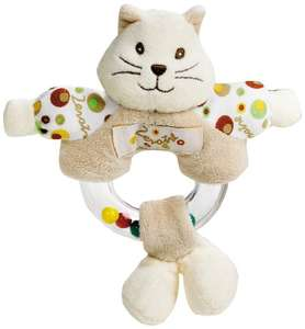 Lelly 15 cm Baby Zerotre Hand Rattle Toy (Brown) £3.65 @ Amazon (Add on item)