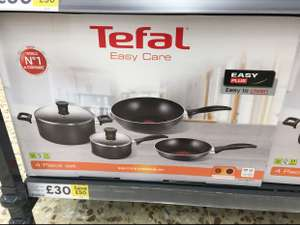 Tefal Easy Care 4 Piece Cookware Set £30 @ Tesco In store