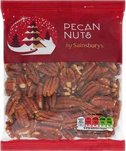 Sainsbury's Pecan Nuts 200g 70% off Was £4.00 now £1.20 - Sainsbury's