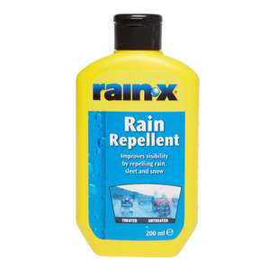 Rain X Rain Repellent 200ml - £3.34 using SAVE33 code @ EuroCarParts