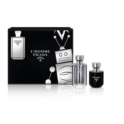 Prada - 'L'Homme Prada' eau de toilette gift set £32.66 @ Debenhams