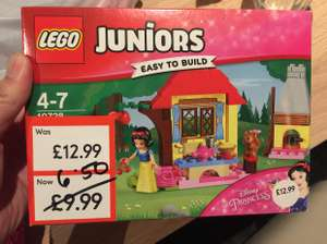 Lego junior Snow White's cottage reduced further to £6.50 @ mothercare instore