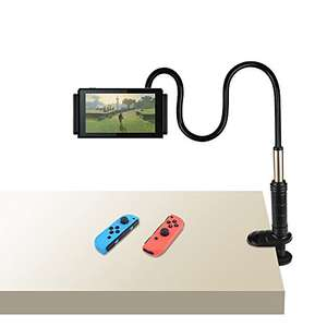 Nintendo Switch/Tablet Gooseneck Arm Holder Stand LOOK MUM NO HANDS £9.99 Prime / £13.98 Non Prime @ Amazon - Sold by Deruitu and Fulfilled by Amazon