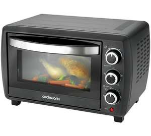 Cookworks 23L Mini Oven - Argos - £44.99 - Fan assisted