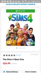 Sims 4 xbox one £24.99 @ Smyths