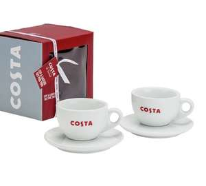 Costa Cup and Saucer Duo Set £4.99 @ Argos