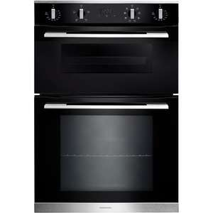 Rangemaster RMB9048BLSS 90cm Built-In Electric Double Oven £318.95 Del @ Appliances Direct