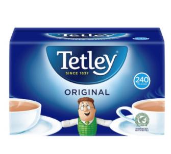 Tetley Teabags 240 £3.19 @ Tesco