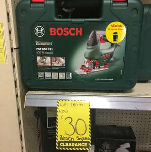 Bosch jigsaw reduced to £30 @ Homebase - Streatham vale in store