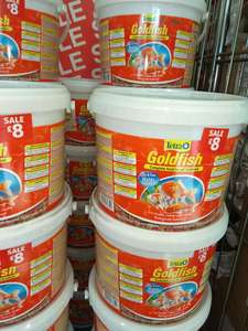 Tetra Goldfish / Cold water fish food Flake Bucket (10L) RRP £50+ - only £8 @ Harvard Mills (Leeds)