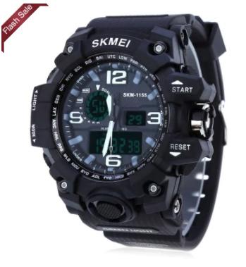 SKMEI LED Digital Quartz Watch £3.47 w/code @ Gearbest