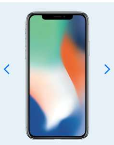 iPhone X Space Grey/Silver Unlimited Calls/Texts 15GB Data for £37.99 p/m and £410 upfront £1311.76 @ Mobiles