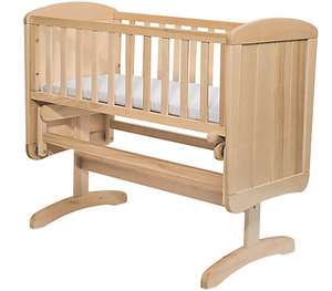Mothercare Deluxe Gliding Crib pre-order £55 with Free Del @ Mothercare
