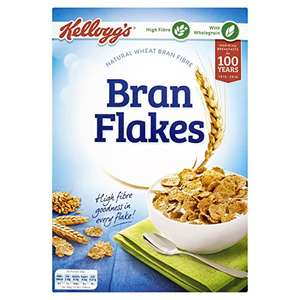 Kellogs All-Bran Flakes 500g £4.75 (Pack of 5) S&S / £5 add on item @ Amazon