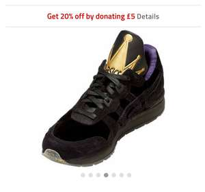 ASICS Tiger DISNEY GEL-LYTE 20% off with £5 Donation - £97