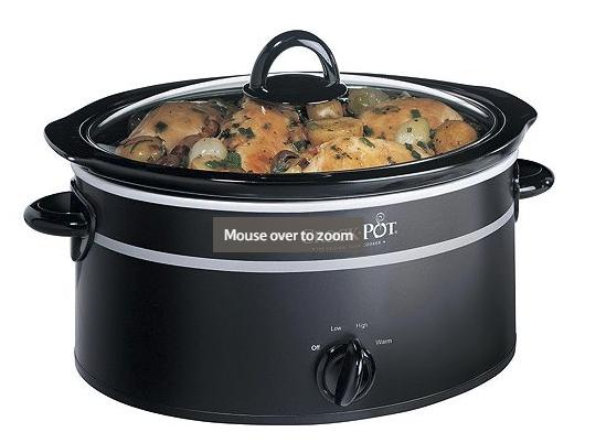 Crock-Pot Slow Cooker, 3.5L - Black £18 (free c+c) was £25 @ Tesco Direct