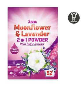Asda Slough - 2 in 1 Moonflower & Lavender washing powder 52 washes £2.50