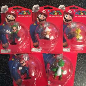 Super Mario Figures - 22 to collect 99p each @ Home Bargains instore