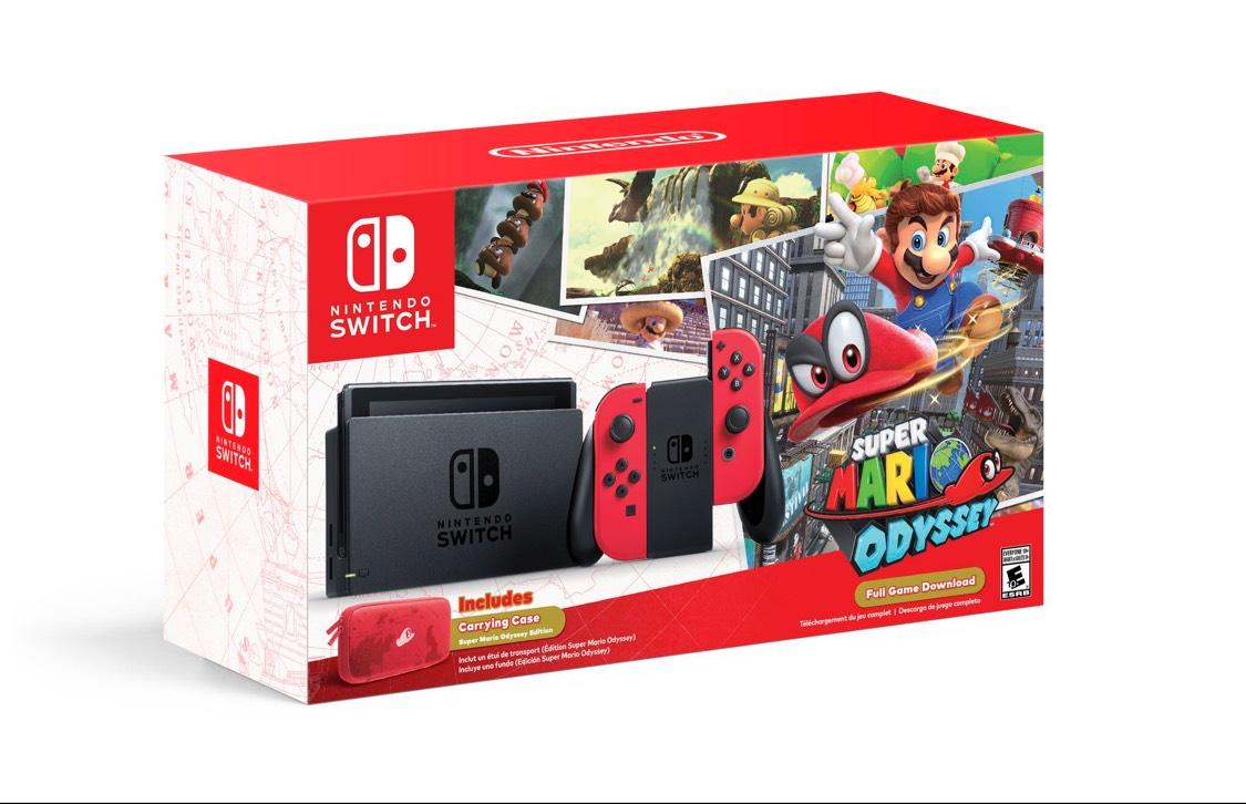 Mario Odyssey Nintendo Switch Bundle (New other) £299 @ eBay / thenewpc2013