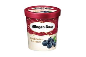 Haagen Dazs 500 ml Blueberries and Cream just £1.49 in Heron foods