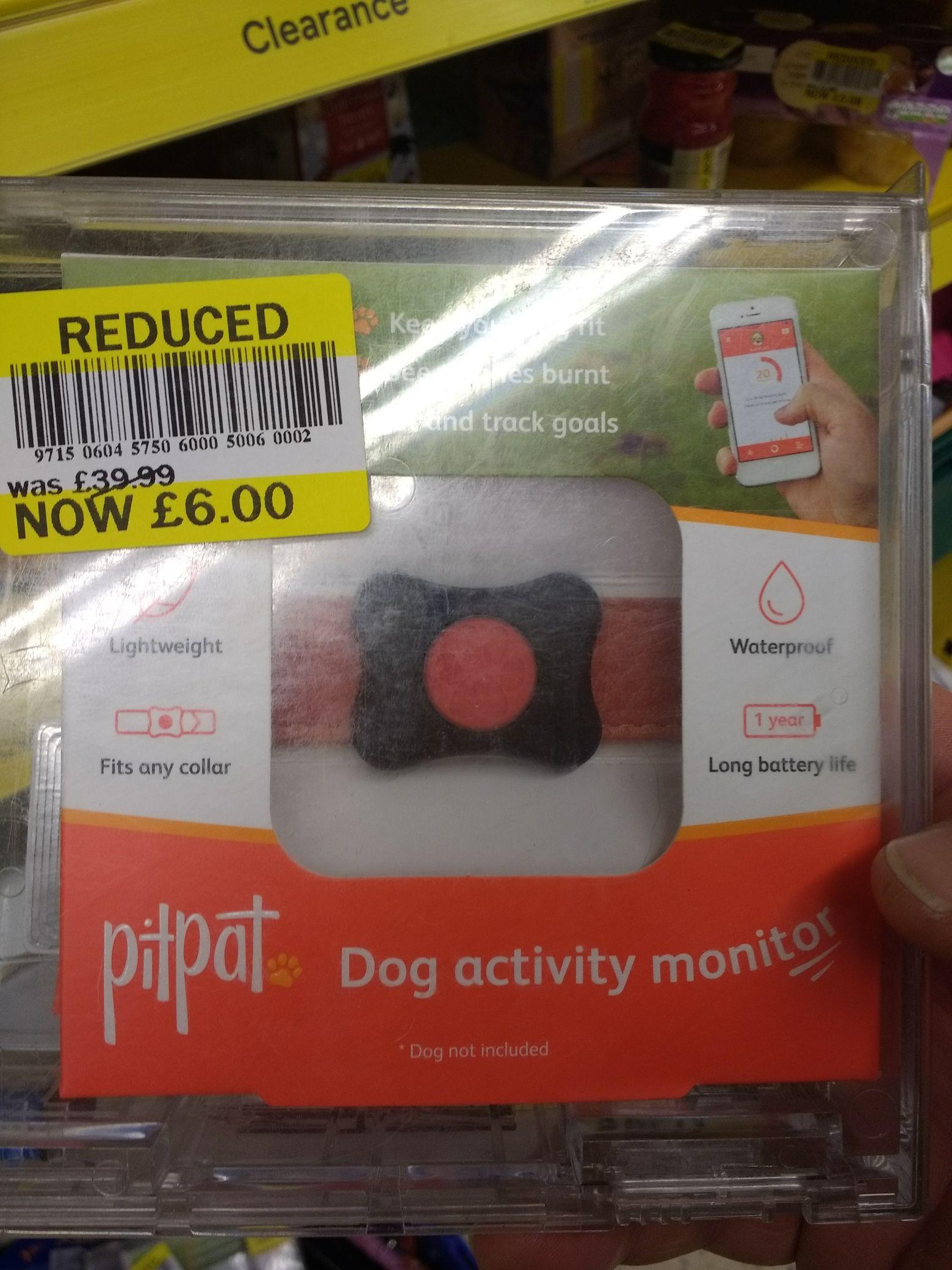 Pitapat Dog activity monitor reduced to £6 at Tesco.