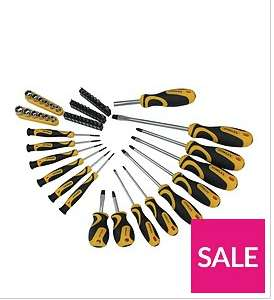 Stanley STANLEY 58 PIECE SCREWDRIVER, SOCKETS AND BIT SET £12.99 @ Very - Free c&c
