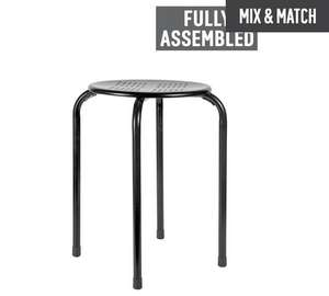 Two stackable stools at under £3 each £3.99 each / £5.98 for two @ Argos