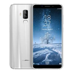 HOMTOM S8 5.7 Inch 4G Smartphone SIM-FREE MTK6750T Octa Core 4GB RAM+ 64GB ROM 16MP+5MP Dual Back Camera Smart Gesture Fingerprint for Android 7.0 (Silver) £150.44 Sold by OutLife and Fulfilled by Amazon - Lightning deal