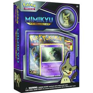 Pokemon TCG Mimikyu Pin Collection £9.27 delivered @ 365 Games