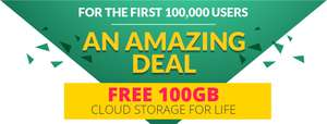 100 GB Free Cloud Storage for  1 User & Lifetime Protection for limited time @ Zoolz